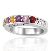 XOX Mom Family Ring