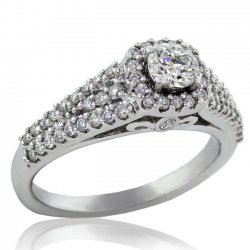 .75ct tw Canadian Diamond Engagement Ring