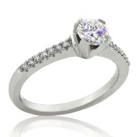 .60ct. tw 14k Diamond Engagement Ring