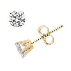 .40 ct tw Round Brilliant Cut Diamond Studs